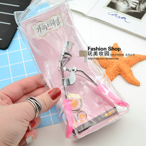 Western style shop Pink stainless steel electric eye eyelash curler curling long clip eyelid topical cosmetic industry
