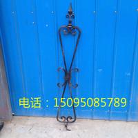 Barrière de fer de fonte Shanwei empalement de barrière métallique de matériaux de construction de clôture en fer forgé la paroi barrière mobile