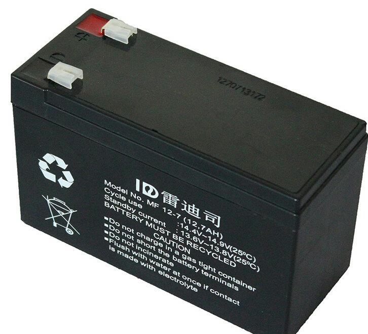 Für die batterie YUASA NPW36W12V7AH Reddy von der batterie maßgeschneiderte UPS Tor