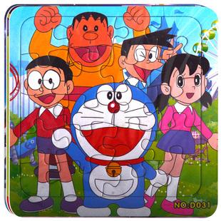儿童拼图纸质益智玩具1-3-6岁8男孩卡通动漫拼版汽车总动员蜘蛛侠