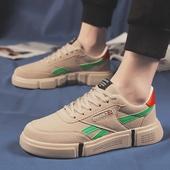 新款网红潮男板鞋休闲帆布鞋