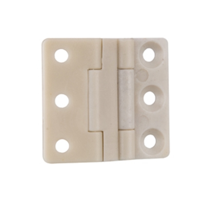 Three axis joint page Beige nylon hinge flap toolbox equipment movable partition hinge CL196-1