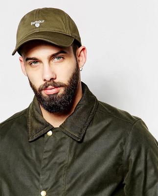 大牌B@RBOUR 夏季英伦薄款透气百搭棒球帽户外遮阳帽 休闲鸭舌帽原单