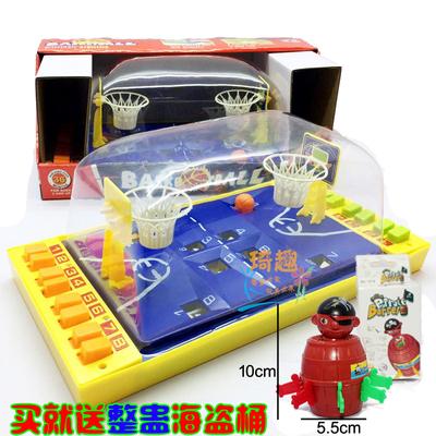 儿童桌面弹射篮球竞赛投篮手指玩具亲子聚会桌游早教休闲男女孩礼