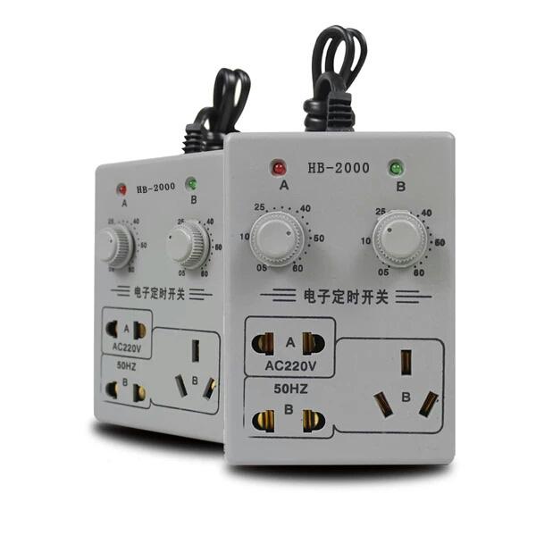El correo de Acuario de ahorro de energía intermitente el interruptor Controlador electrónico de ahorro de tiempo de tiempo de conexión