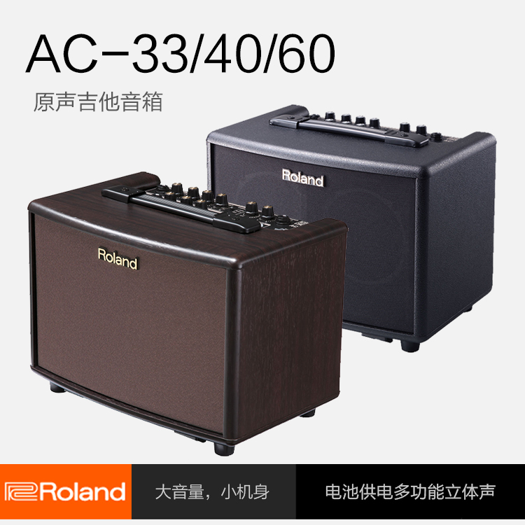 Roland Roland lautsprecher AC33AC40AC60RW lautsprecher - boxen - gitarre - sound.