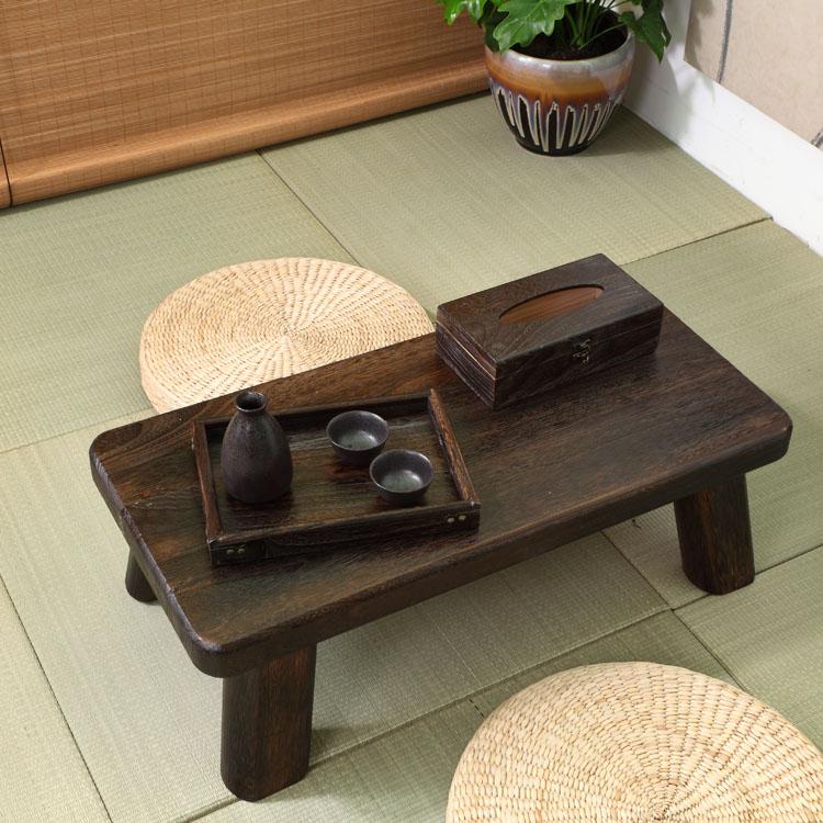Japanese tatami wood coffee table table bed computer desk window balcony Aiji few Kang Kang Table table