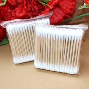 卫生棉棒/双头木棒美容棉签化妆棒1000支10包