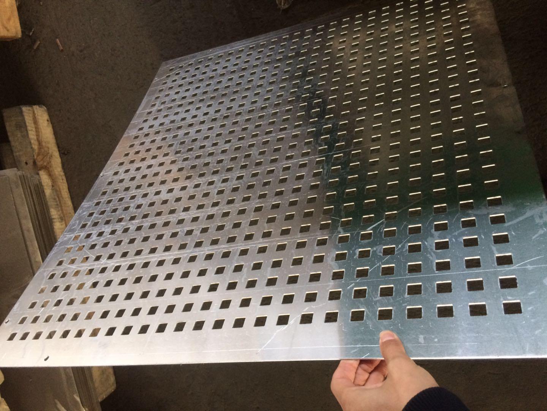 Tai 凯方孔 lochblech piercing Aluminium quadratische löcher Schild pegboard mesh.