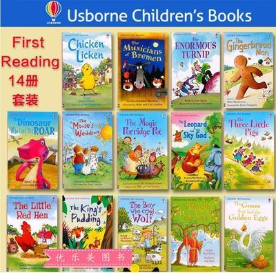英国Usborne 幼儿英文绘本经典童话故事书 英语启蒙早教亲子读物