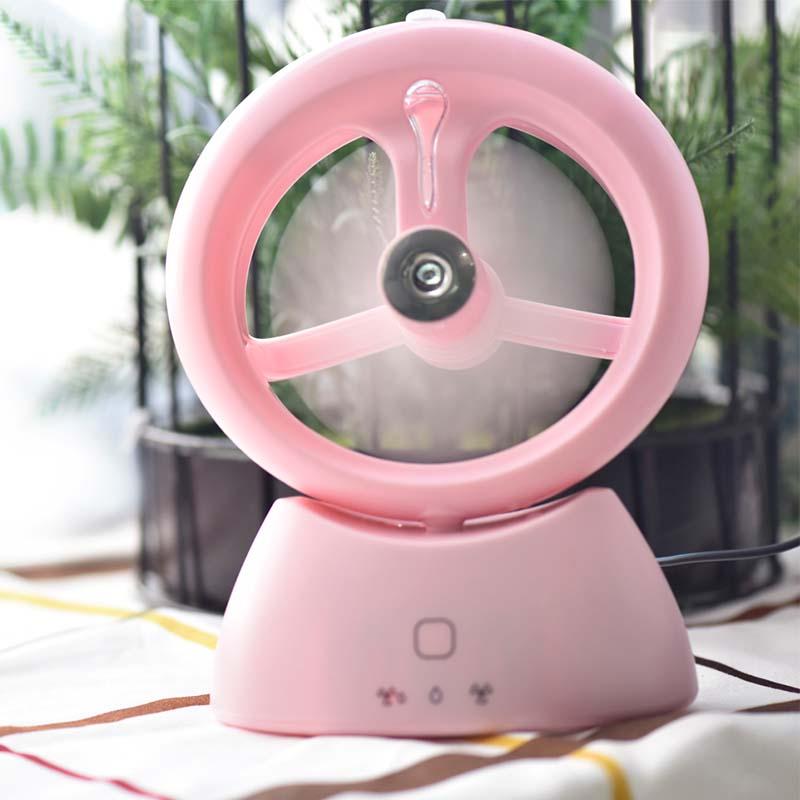 - spray de ventilator mic dormitor mut biroul reîncărcabilă portabilă de birou.