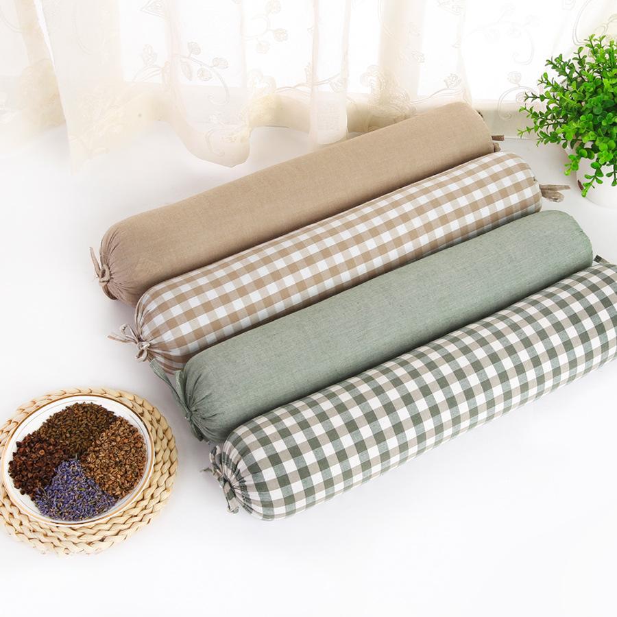 ケツメイシそば枕枕修復頸椎護頚枕枕円形成人シングル枕綿菓子殻