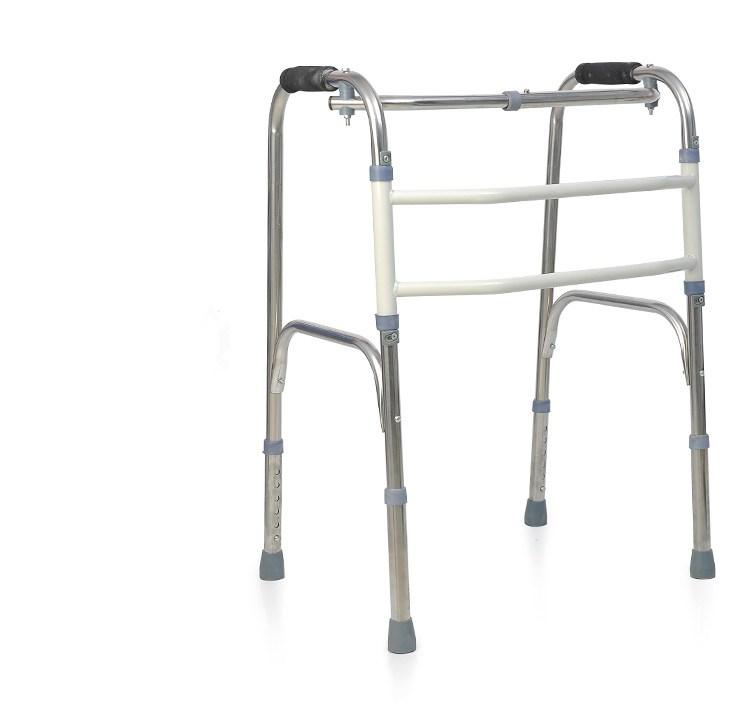 tjock rostfritt stål av rehabilitering käpp eller höjd justeras för äldre patienter med frakturer gånghjälpmedel öka krycka