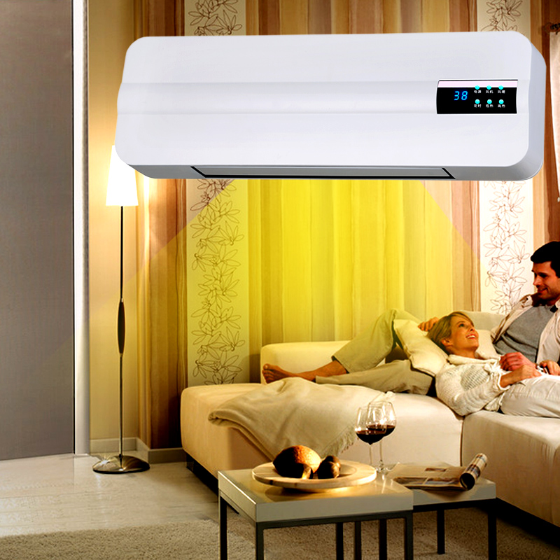 Air heater, heater, household electricity saving electric heater, wall hanging bathroom waterproof, cold and warm energy saving air conditioner fan