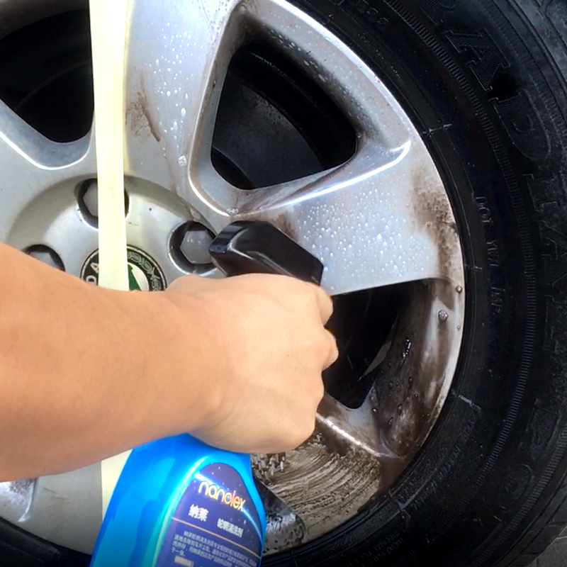 Automobile hub cleaning agent, aluminum alloy steel ring rust remover, iron powder rust remover, paint cleaning, decontamination and polishing