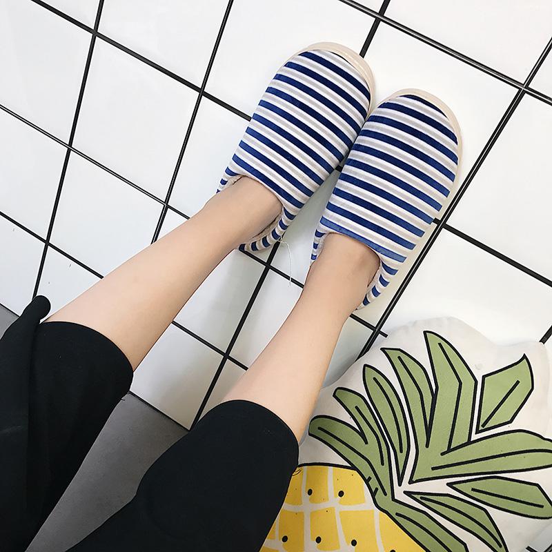 天天特價鼕季韓版舒適情侶棉拖鞋女居家室內保暖月子防滑毛拖鞋男