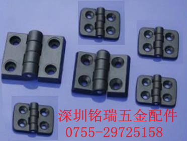 Nylon hinge, plastic hinge, plastic hinge and profile are equipped with hinges