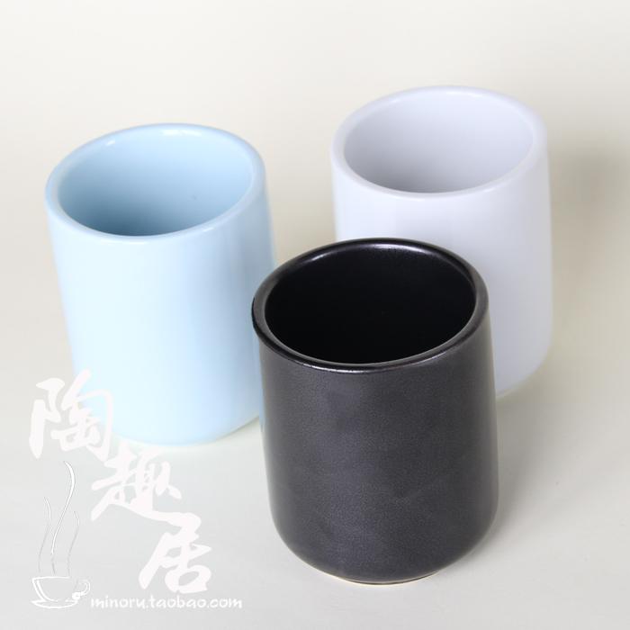 藍色中號bn-07 cd583陶趣居 日式茶杯 陶瓷水杯口杯飯店餐廳壽司杯茶具用品酒店杯子