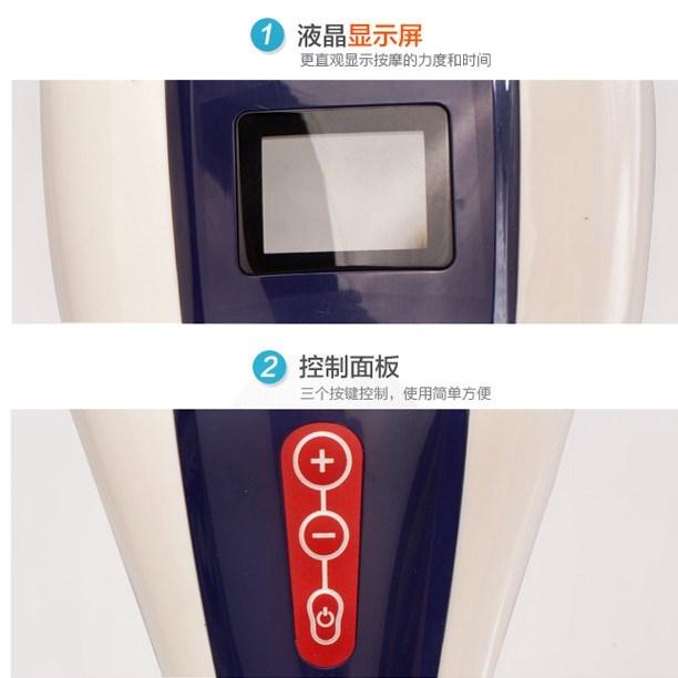 håndholdt dobbelt massage - husstanden multifunktionelle elektrisk massage acupoints på vibrationer og stor magt, ben