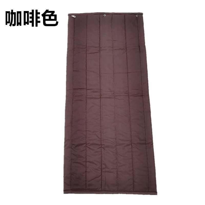 Bolsa de correo personalizado de algodón de cuero de los aparatos de aire acondicionado frío hijo engrosamiento de aislamiento térmico aislamiento acústico de agua de la cortina