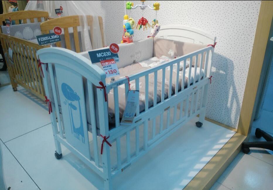 2017新型いい子MC630Aベビーベッド欧風材の児童のベッドの環境保護の多機能ベッド赤ちゃんゲーム