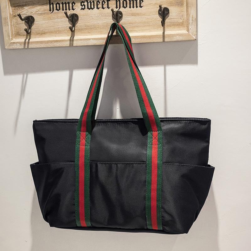 H6986-牛津布大包女款韩版潮2017新款大容量单肩包休闲百搭手提包