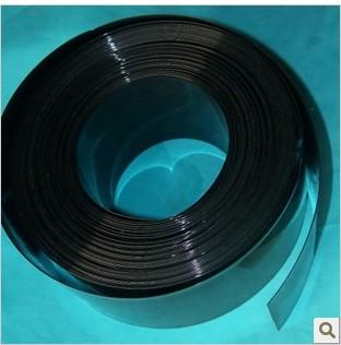 De ancho con el tubo de PVC negro de 170 108 funda aislante térmica película el paquete de batería