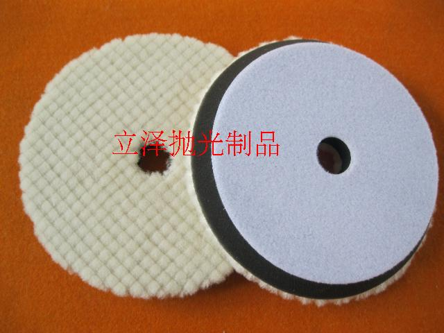 Supply of polished Japanese 7-inch wool wheel car polishing wheel 180 imported materials wool ball