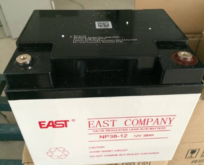 EAST battery 12V100AH DC panel /UPS power supply battery EAST NP100-12