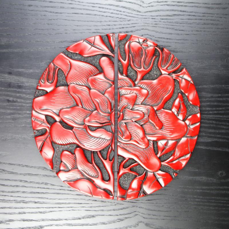 13號拉手紅色螺絲固定款中式鞋柜門把手仿古仿金抽屜衣柜門把手櫥柜明裝復古典家具拉手