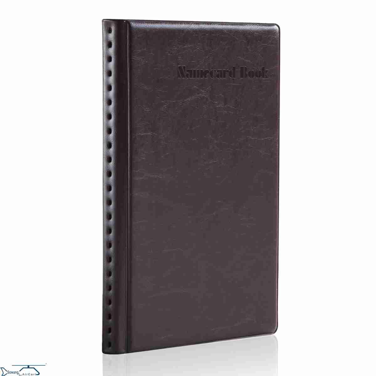 お得な名刺ホルダー大容量夾冊本ドレー冊カード卡本名刺入れを整理収納ビジネス収集