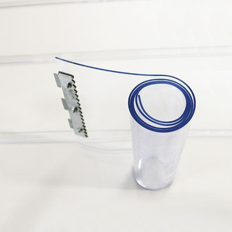 Zachte doek PVC transparante gordijn de mug. - warmte - isolatie airconditioning - opslag.