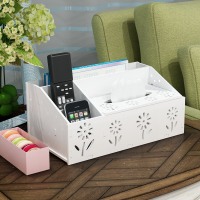Multifunctional remote control receiver box, living room, TV remote control box, paper box, paper box