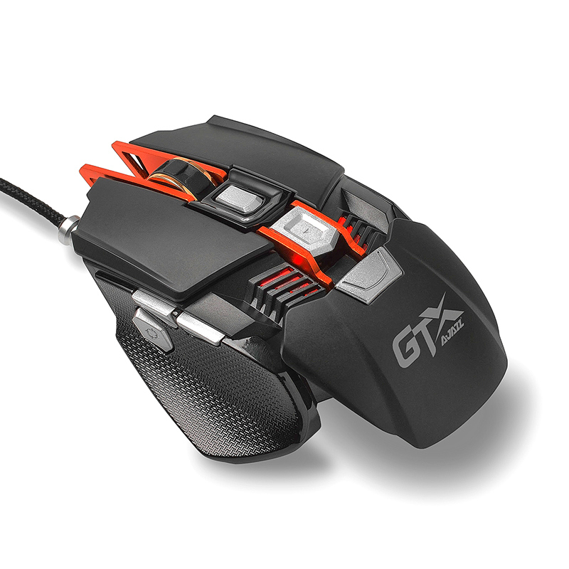 Black GTX gaming machine game mouse game series computer mouse Jedi survival h1z1 macro lol