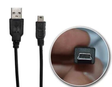 Des lignes de données miniusb t exp Samsung, disque dur mobile caméra plate mp3 / MP4 de ligne de données de la ligne de charge de V3