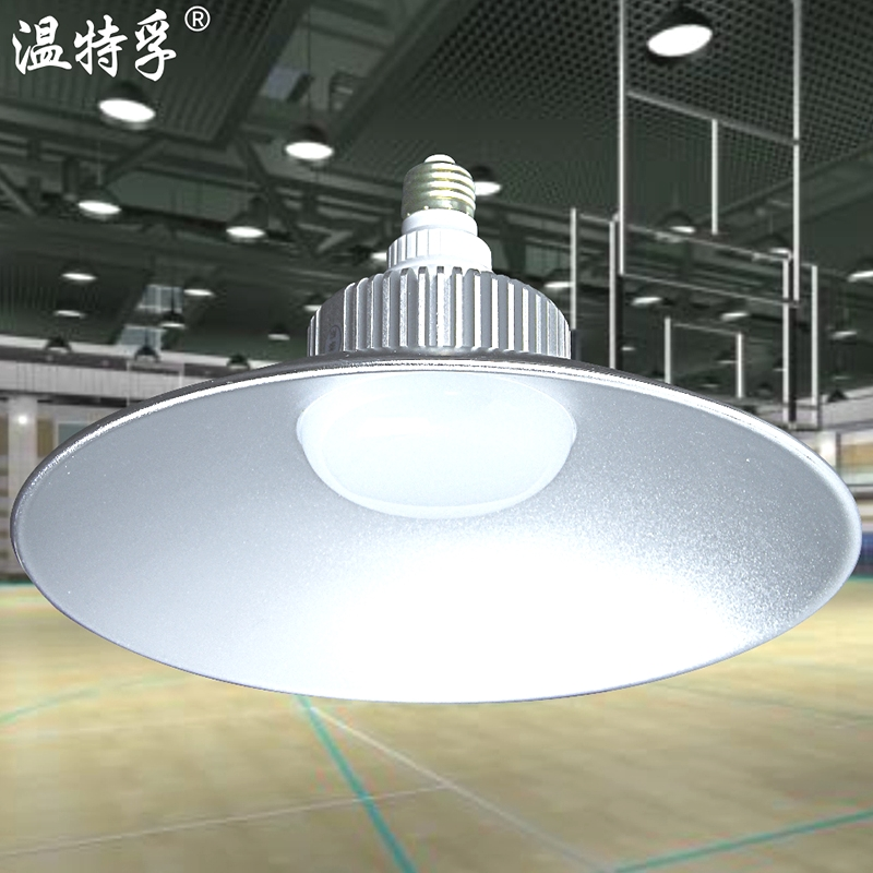 โกดังโรงงานโคมไฟเพดานไฟ LED โคมไฟอุตสาหกรรมและเหมืองแร่ 30W50W100W หลอดไฟโคมไฟป้องกันการระเบิดที่โรงงานไฟฟ้าขนาดใหญ่