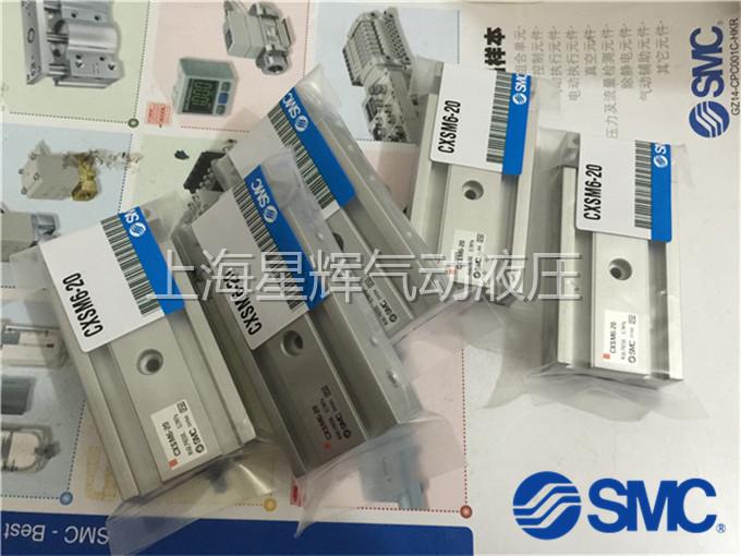 SMC original genuine CXSL25-10CXSL25-20CXSL25-30 ball bearing double rod cylinder