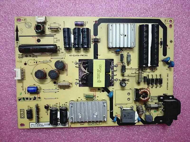az TCLB48E650B48E68048 cm lcd tv - az alaplap - nagyfeszültségű háttérvilágítás