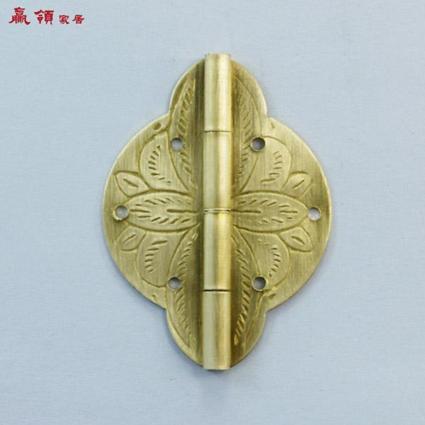 Chinese copper box hinge not detachable hinge ylyf156 GOLD MINI hinge