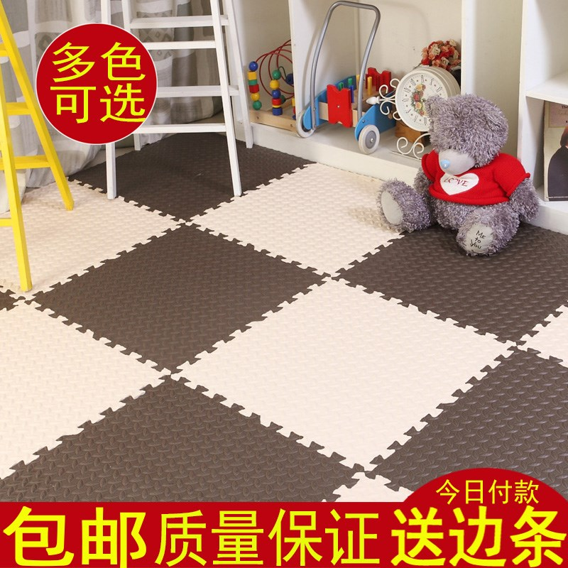 Foam pad stitching square large bedroom home children crawling tatami sponge thickened Floor Puzzle