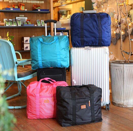 加厚可折叠便携大容量旅行袋行李袋 男短途旅行包手提拉杆包女