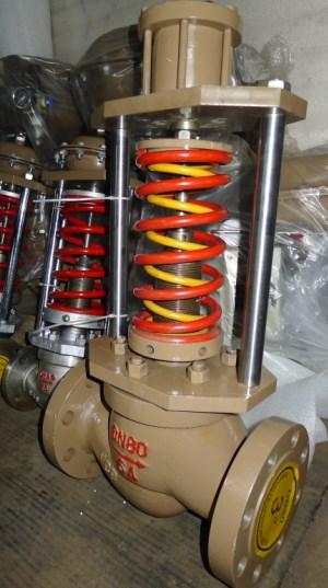 Fundición de acero de la válvula de regulación de presión de vapor de la caldera de alta temperatura ZZYP válvula de regulación de presión Válvula de regulación de presión DN20