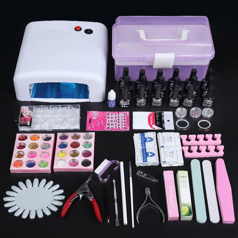 La macchina di unghie di strumenti 6W Chiodo Manicure Luce fototerapia lampada per le unghie lunghe unghie arrosto asciugatrice tutta una serie di