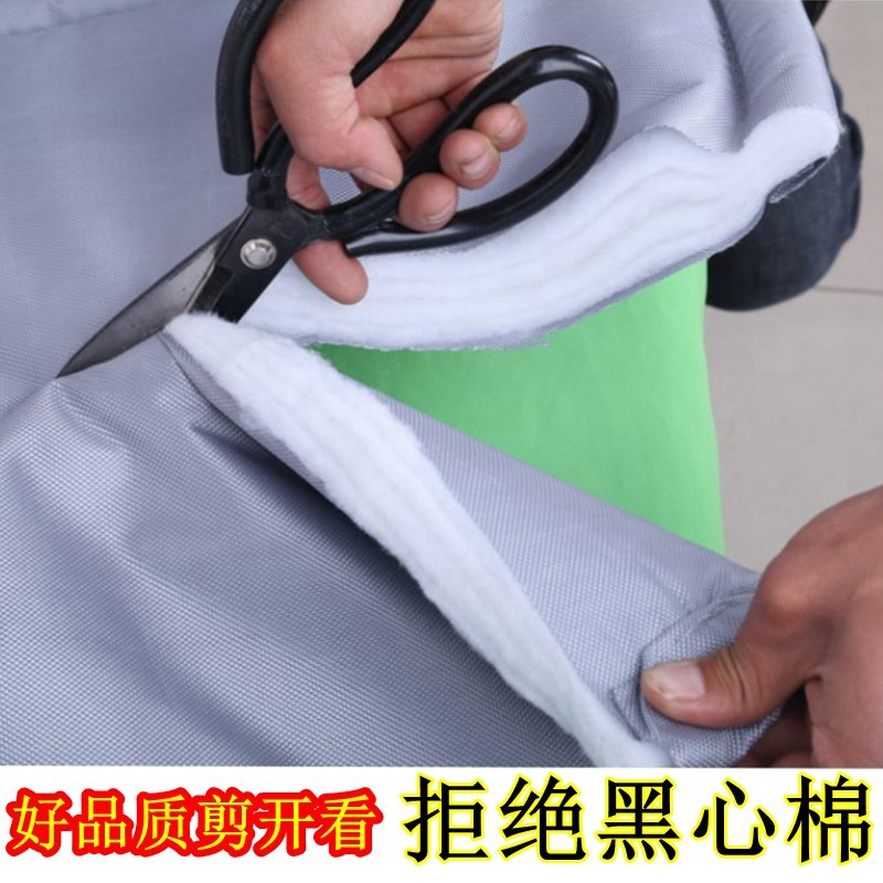 Winter waterproof thickening fabric, cotton door curtain, warm and cold proof, household thermal insulation, shopping mall, air conditioner, soundproof curtain