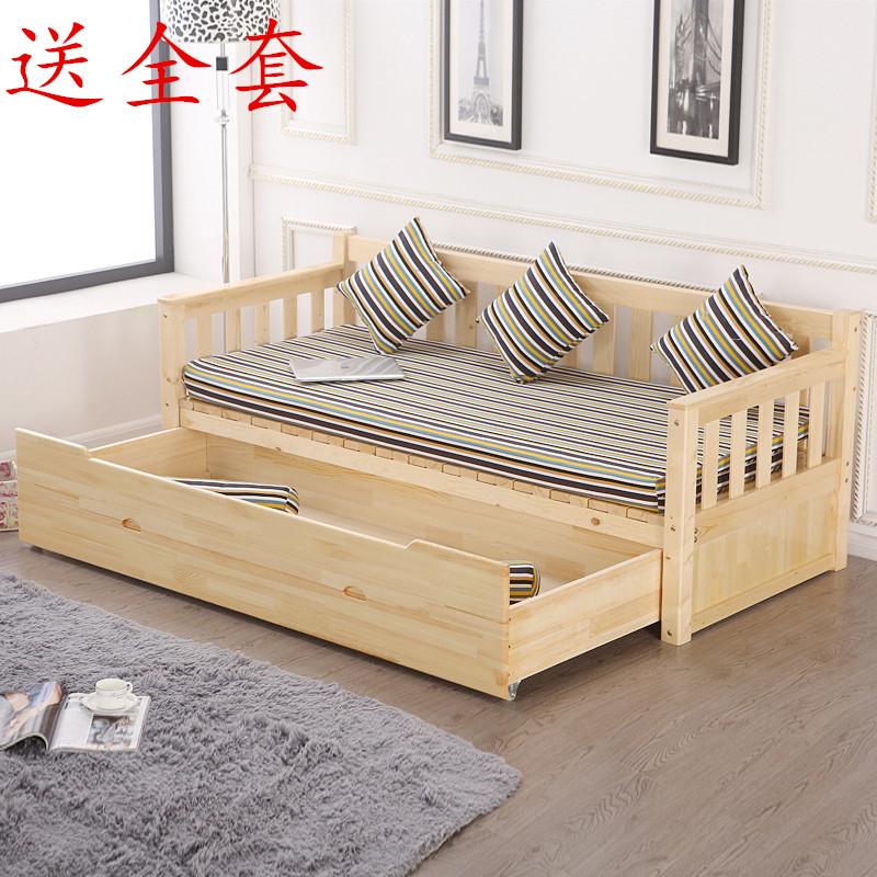 ειδική ονάδα καναπέ κρεβάτι πτυσσόμενο κρεβάτι καναπέ στο σαλόνι άντλησης άνοιγµα διπλής χρήσης αποθήκευση καναπέ - κρεβάτι καθαρό ξύλο