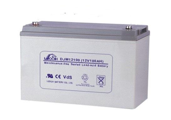 Leoch 12V100AH leoch battery power DJM12100UPS / DC screen battery warranty for three years