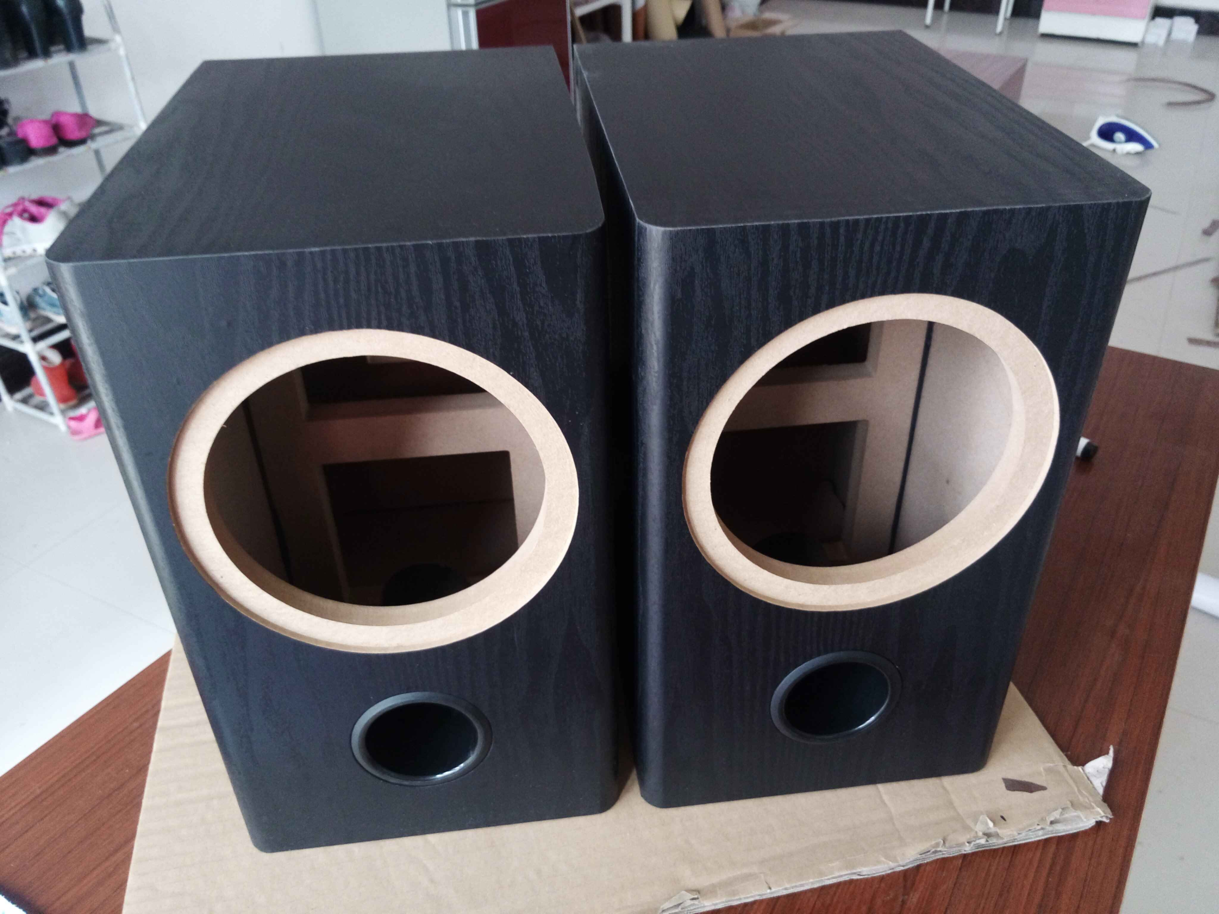 Des canons 456.58101215 pouces de basse fréquence étagère du Haut - parleur audio personnalisé de la boîte vide d'atterrissage