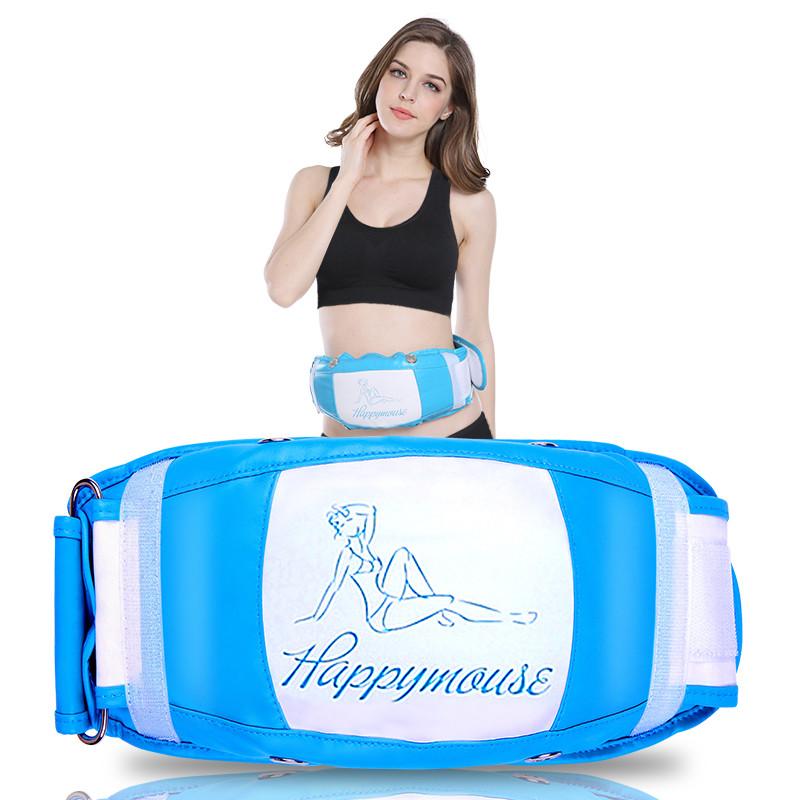 Grasa de cintura grasa máquina de vibración de calefacción de equipos de masaje abdominal delgada cintura delgada para reducir la barriga