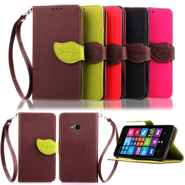 Microsoft Lumia 535 Nokia 1089 | 1090 Hong Kong version of the wallet phone clamshell leather protective shell female