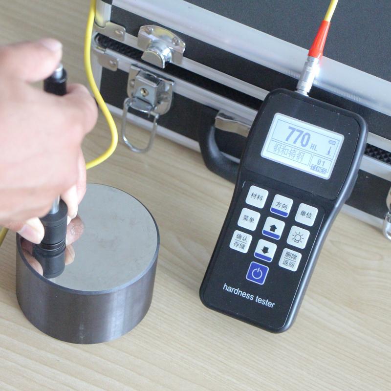 ขนาดเครื่องวัดความแข็งเครื่องวัดความแข็งโลหะความแม่นยําสูง TH-120110 แบบพกพาเครื่องวัดความแข็งเครื่องวัดความแข็งร็อคเวลล์